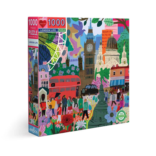 Eeboo 1000 piece - London Life