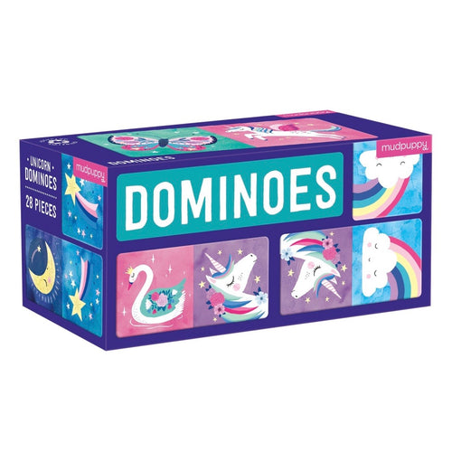 Mudpuppy - Dominos - Unicorn