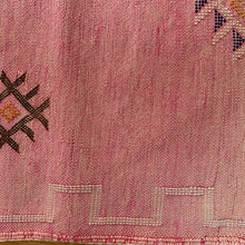 Cactus Silk Cushion - Lumber Pink
