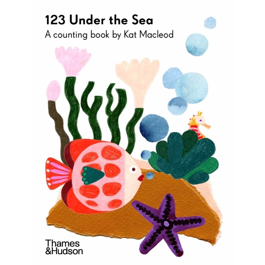 123 Under The Sea - Board Book