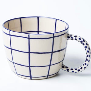 Jones & Co - Chino Mug Windowpane