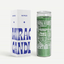 W Pico Candle - Fast Luck Green