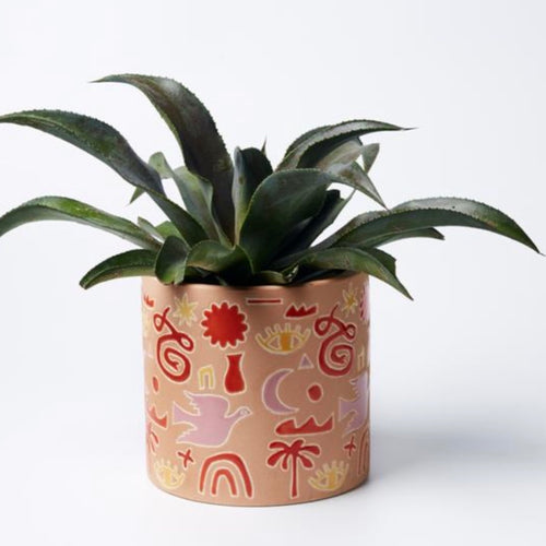 Jones & Co - Gypsy Fields Planter Pink
