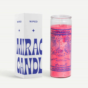 W Pico Candle - Hummingbird