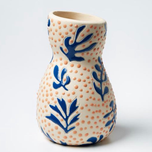 Jones & Co - Saturday Vase Matisse Blue