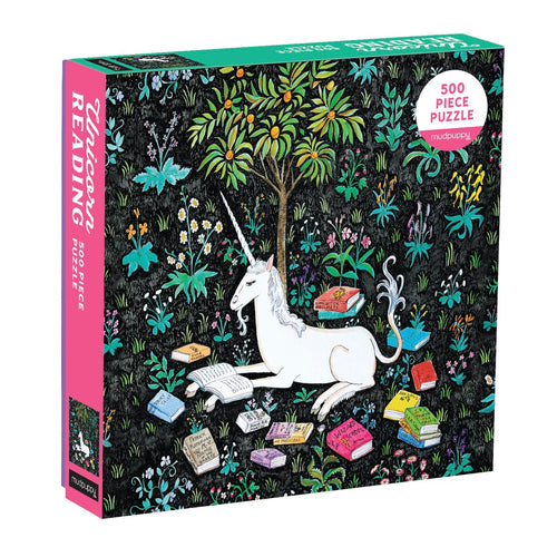 Puzzle - 500 piece Unicorn Reading