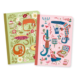 Djeco - Little Notebooks Set of 2 Asa