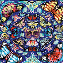 Mudpuppy 500 piece - Kaleidoscope butterflies