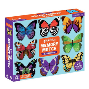 Mudpuppy - Memory match - Butterflies