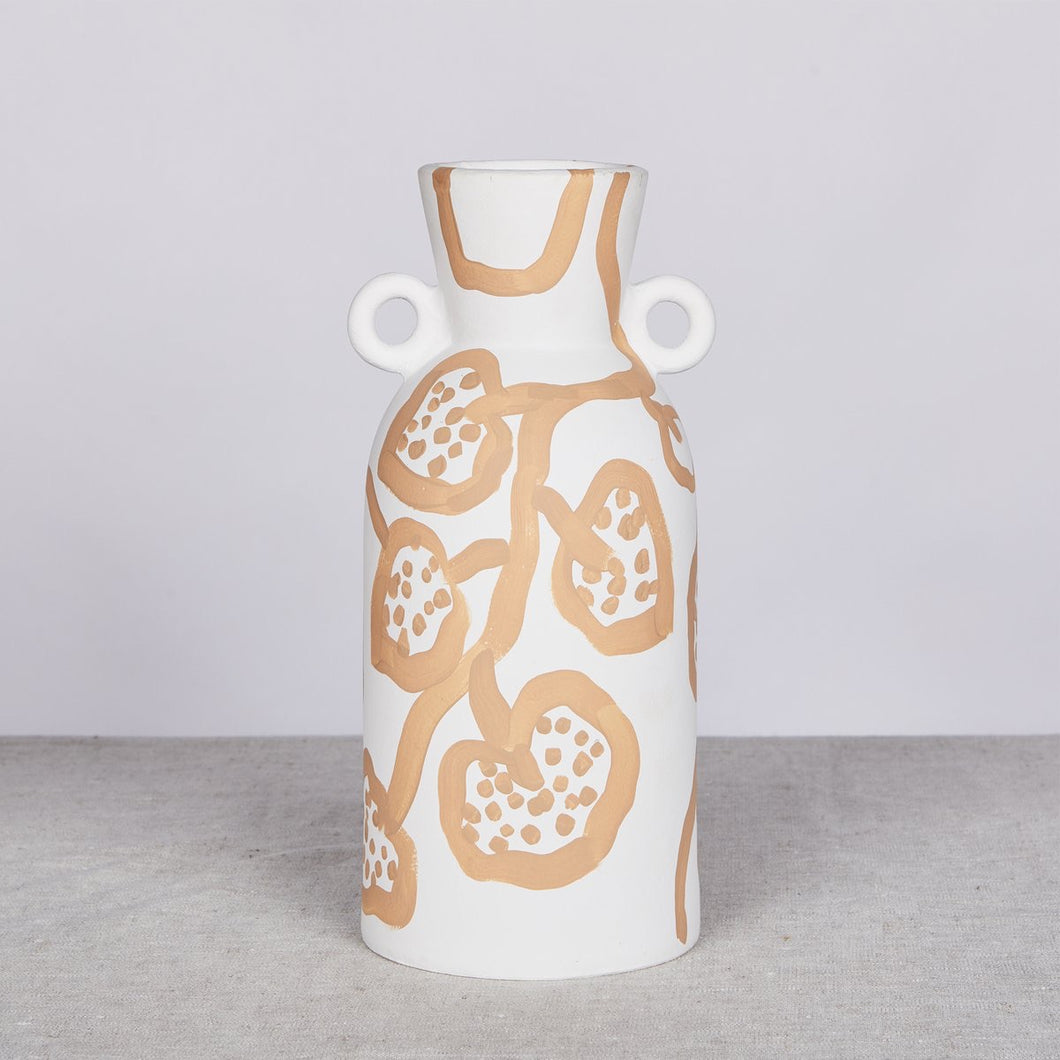 Bonnie & Neil - Spotted Bergonia Vase tall