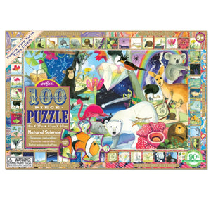 Puzzle 100 piece - Natural Science