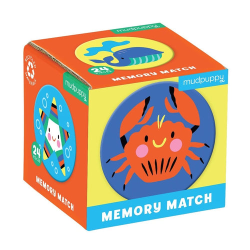 Mudpuppy - Memory Match Under The Sea