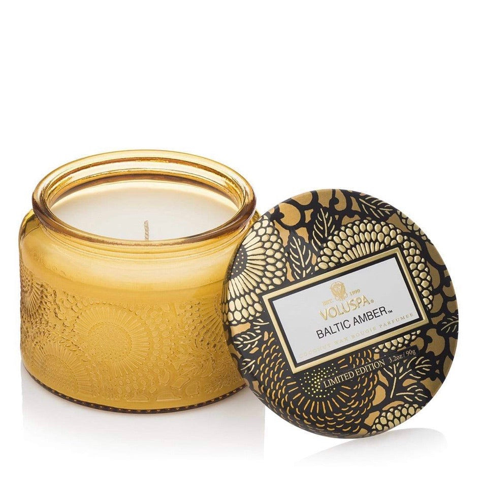 Voluspa Candle 25 hour- Baltic Amber