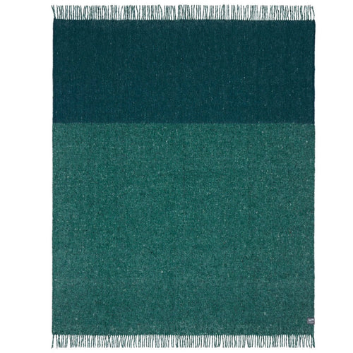Waverley Recycled Wool Throw - green