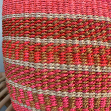 Kenyan Sisal Basket - small