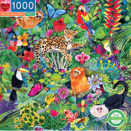Eeboo 1000 piece - Amazon Rainforest