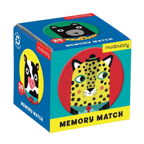 Mudpuppy - Memory Match Animal Friends