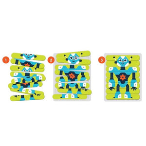 Mudpuppy - Puzzle Sticks Robots