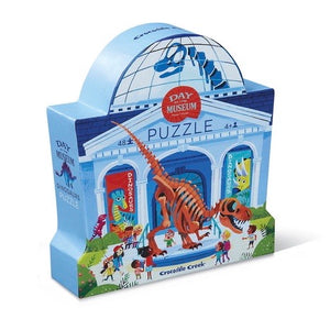 Crocodile Creek - Museum Dinosaur 48 piece puzzle