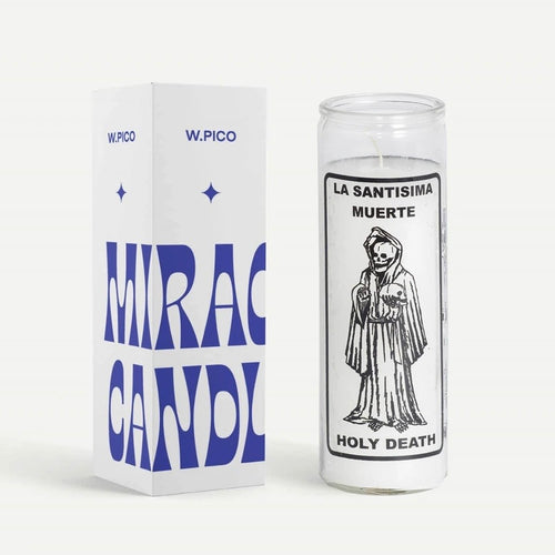 W Pico Candle - Holy Death
