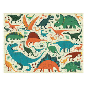 Mudpuppy 100 piece - Double sided Dinosaur Dig