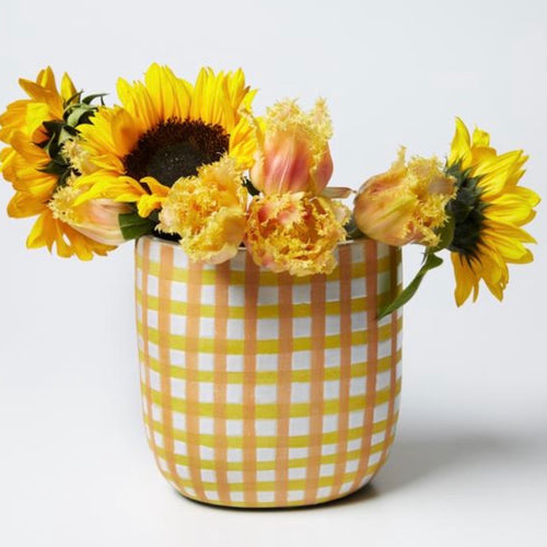 Jones & Co - Butter Check Vase