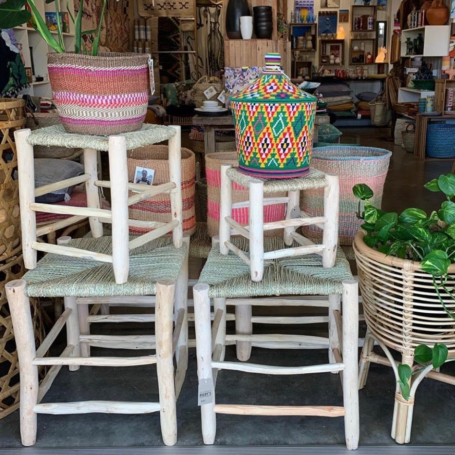 Moroccan Woven Tables