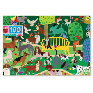 Puzzle 100 piece - Dogs at Play