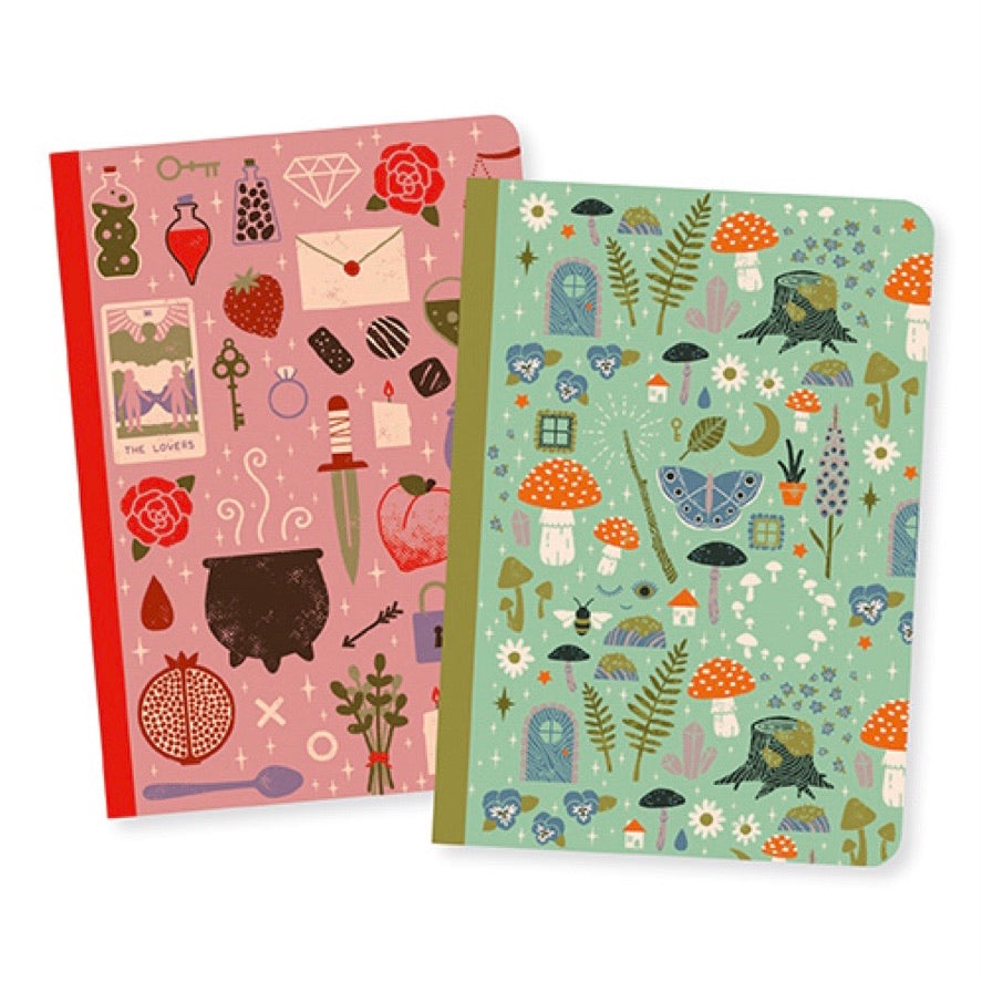 Djeco - Little Notebooks Set of 2 Camille