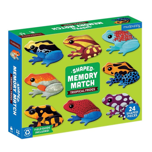 Mudpuppy - Memory match - Frogs