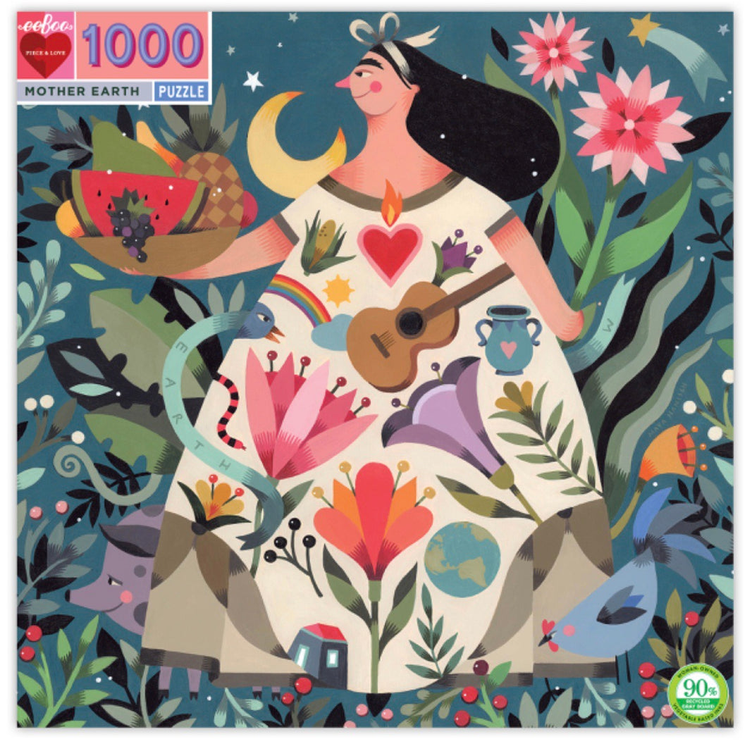 Eeboo 1000 piece - Mother Earth