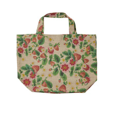 Bonnie & Neil - Linen Tote Strawberries