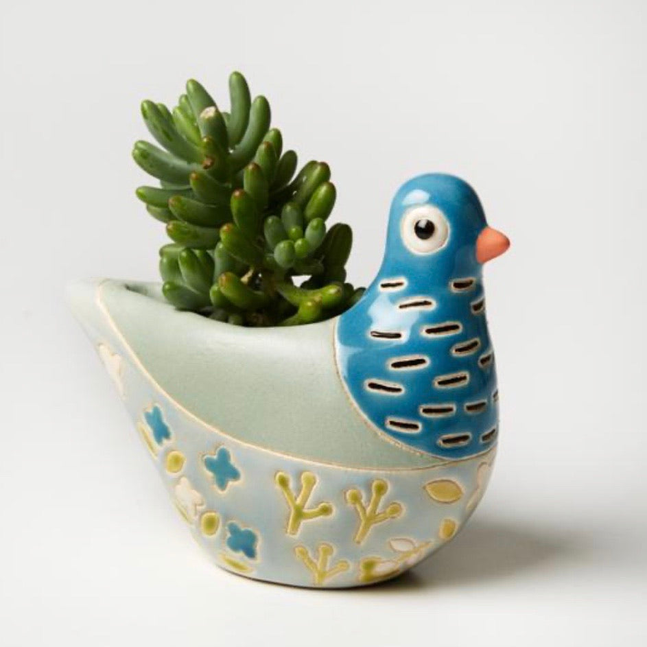 Jones & Co - Bonita Planter Blue