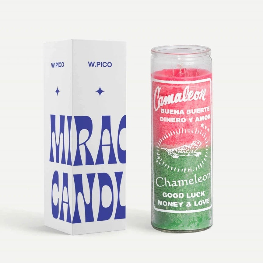 W Pico Candle - Chameleon