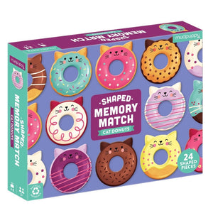 Mudpuppy - Memory match - Cat Donuts