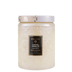 Voluspa Candle 100 hour- Santal Vanille