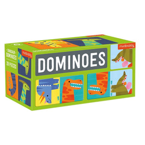 Mudpuppy - Dominos - Dinosaur