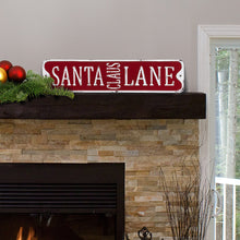 Load image into Gallery viewer, Santa Claus Lane Sign