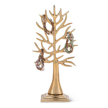 Load image into Gallery viewer, Gold Jewelry Tree