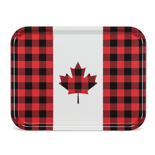 Buffalo Check Maple Leaf Tray
