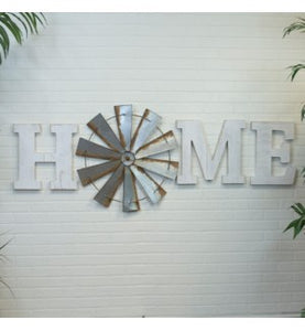 Home Windmill Sign