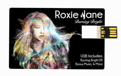 USB CARD (includes all Burning Bright & Chick Flair music and extras)