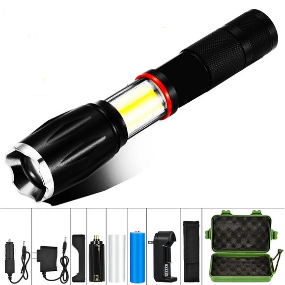 Powerful LED Tactical flashlight