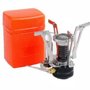 Canister mini camping stove
