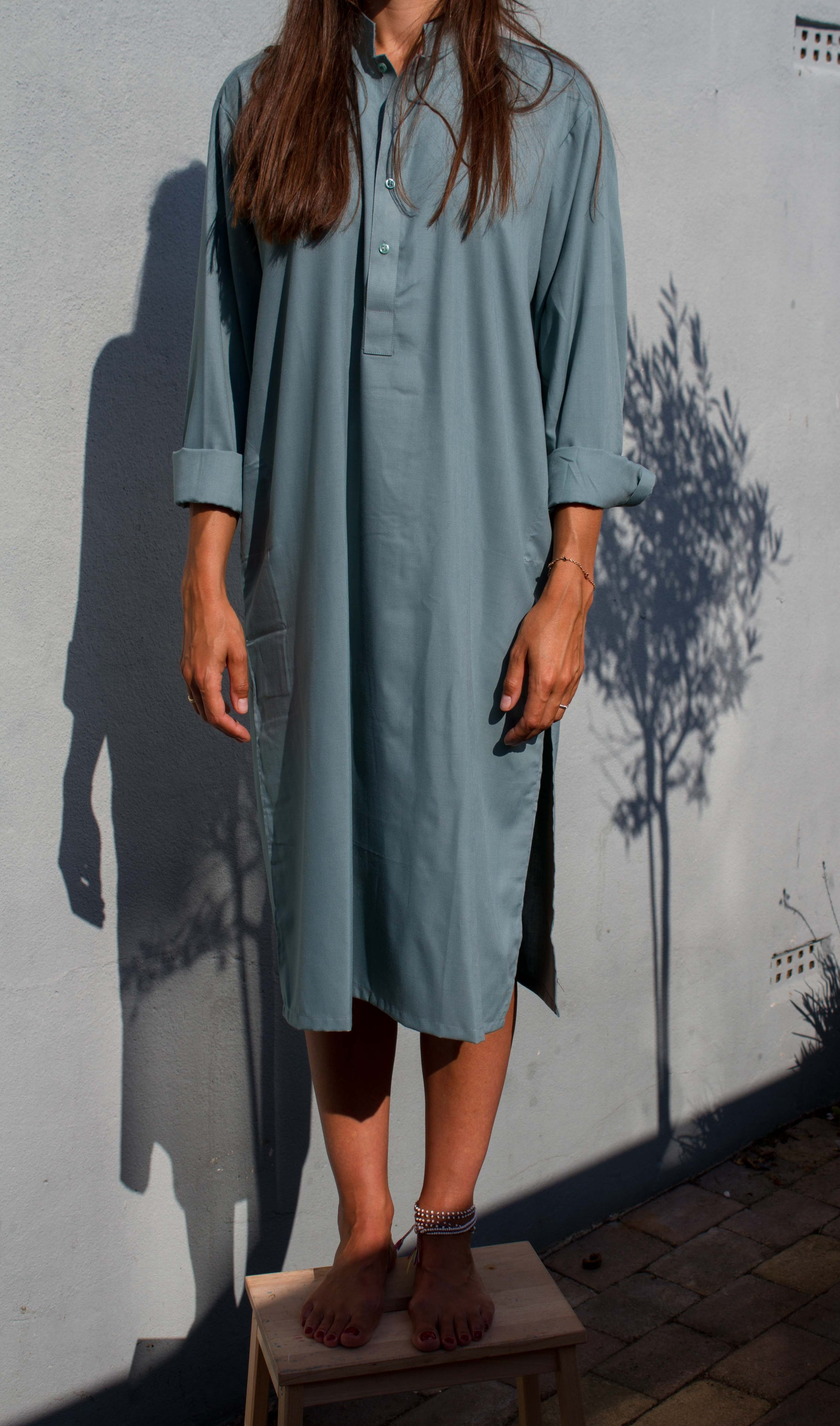 Namba Dress - sage green