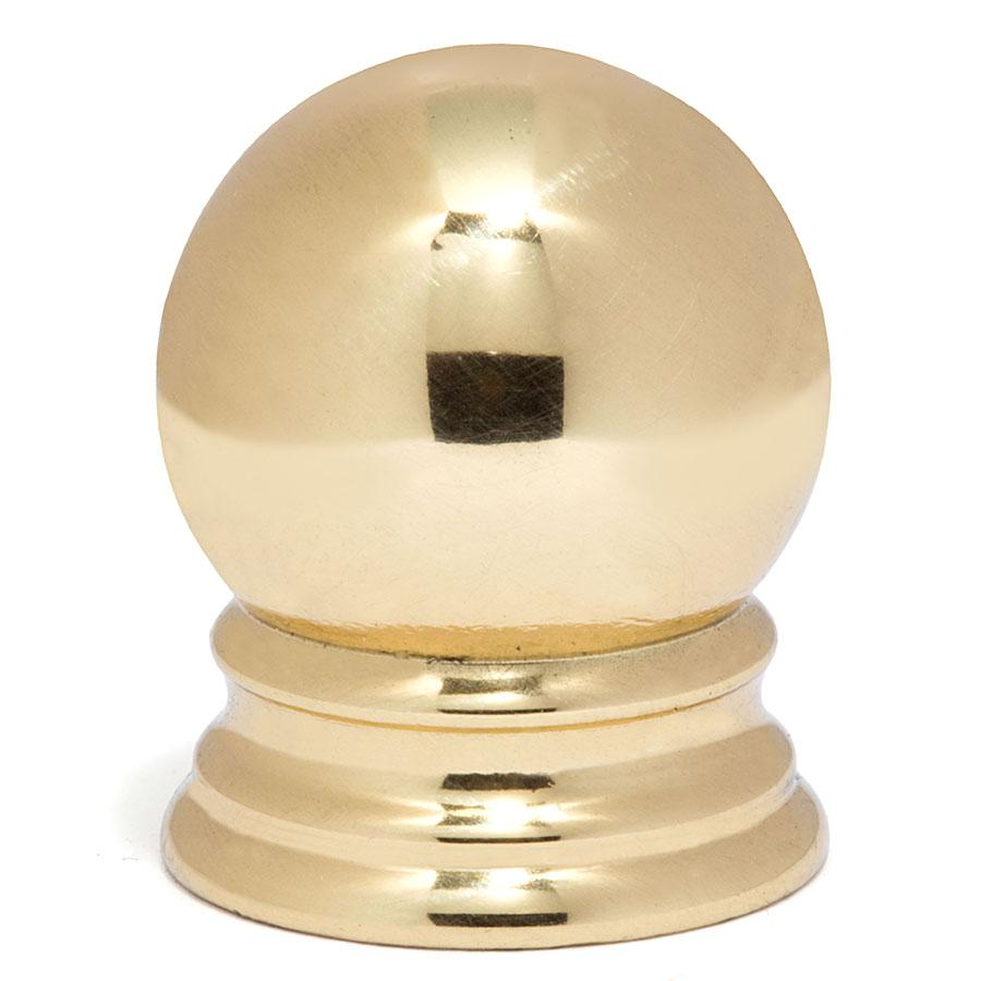 5/8 Ball Finial - Liberty Brass