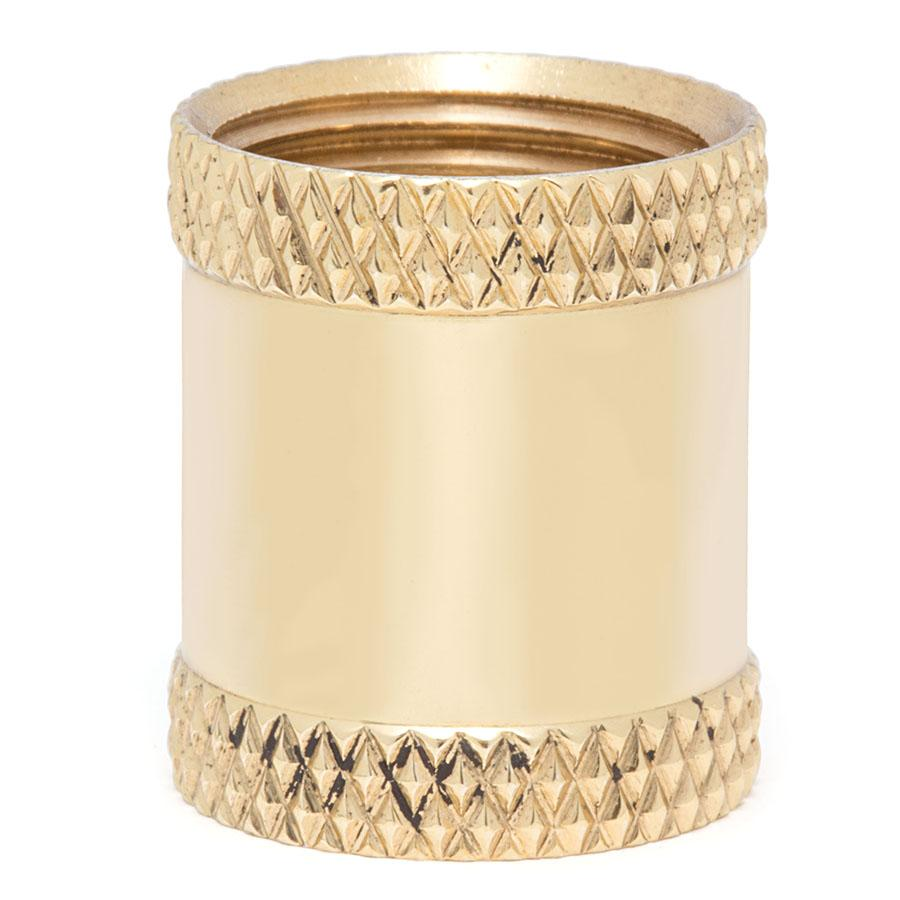 Knurled Couplings - Liberty Brass