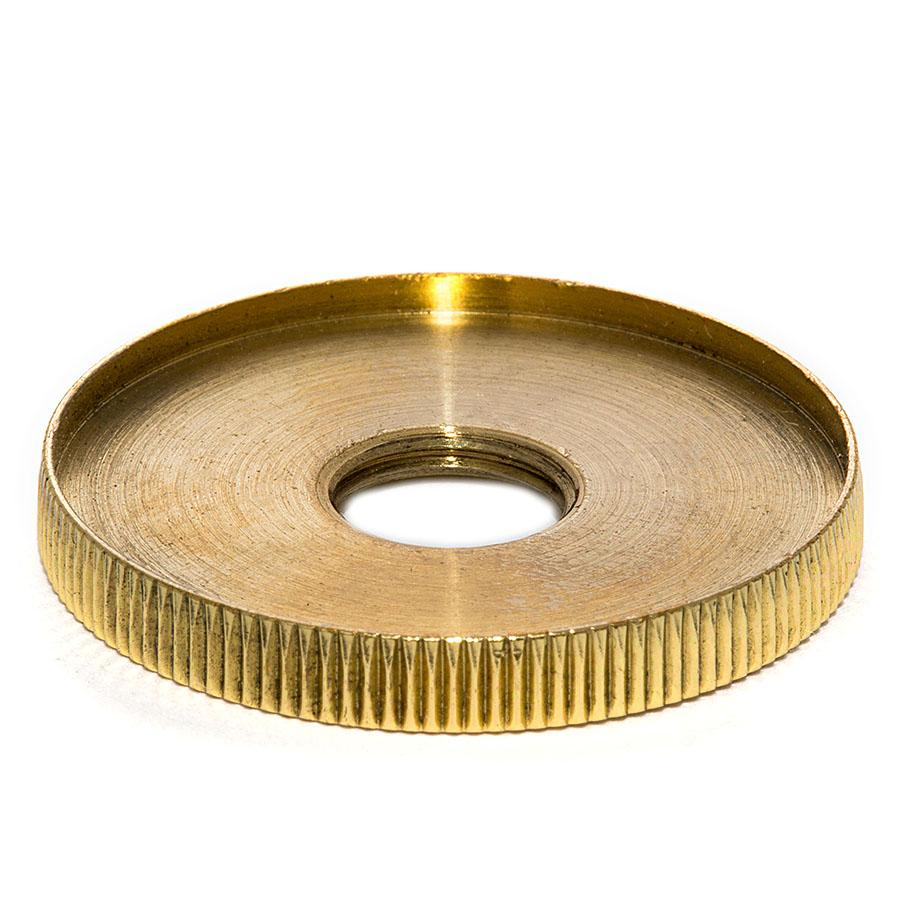 Knurled Tapped Check Ring - Liberty Brass