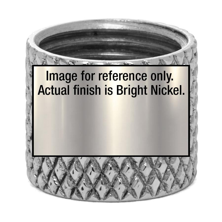 Small Knurled Bushing - Liberty Brass