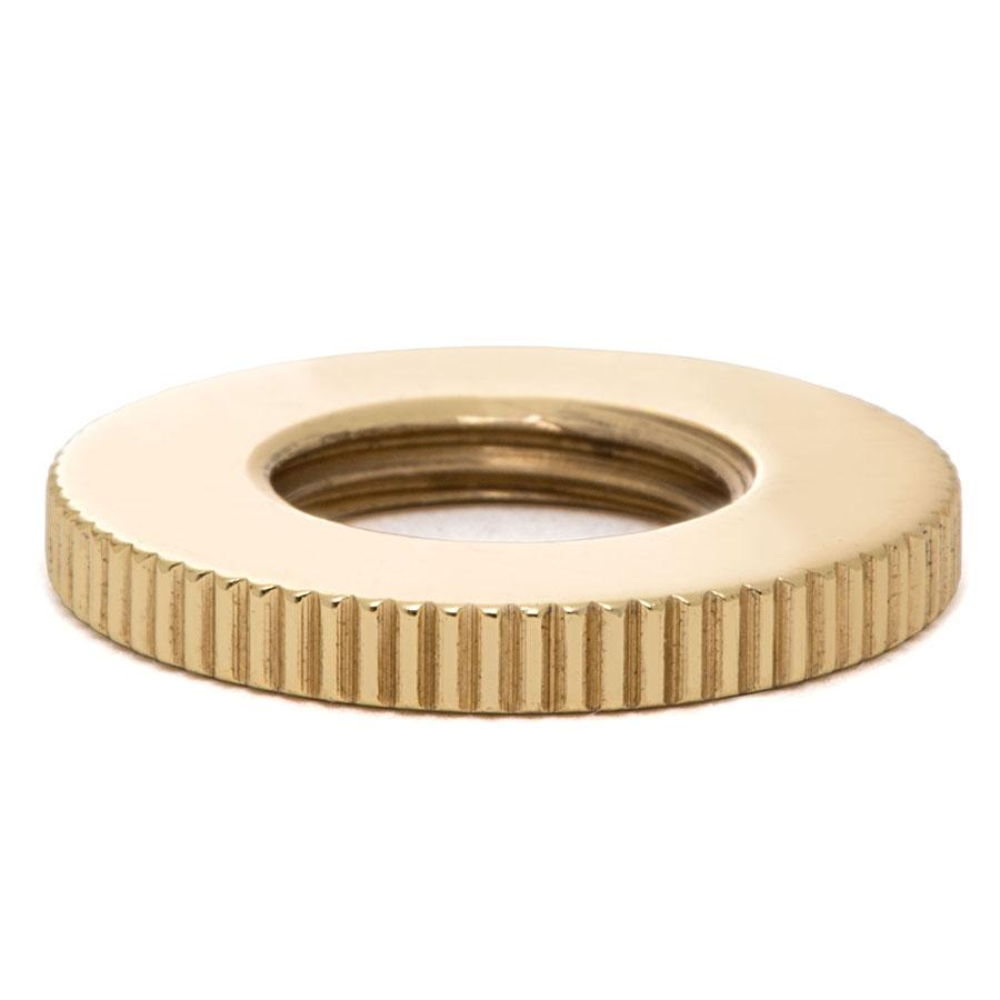 Round Knurled Nut - Liberty Brass